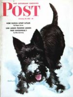 Saturday Evening Post, January 30, 1943 - Scotty in Snow