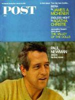 Saturday Evening Post, February 24, 1968 - Paul Newman