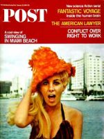Saturday Evening Post, February 26, 1966 - Swinging in Miami Beach