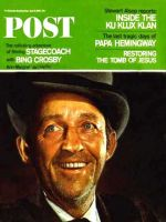 Saturday Evening Post, April 9, 1966 - Bing Crosby in