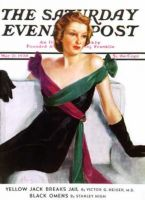 Saturday Evening Post, May 21, 1938 - Evening Gown