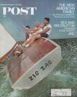 Saturday Evening Post, July 13, 1968 - Family Sailing