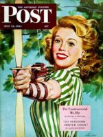 Saturday Evening Post, July 22, 1944 - Woman Archer