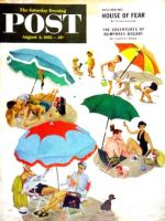 Saturday Evening Post, August 2, 1952 - Couples at the beach