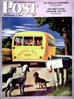 Saturday Evening Post, September 2, 1944 - School Bus