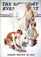Saturday Evening Post, September 24, 1938 - Cleaning Up Graffiti