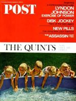 Saturday Evening Post, September 24, 1966 - Fischer Quints at Three