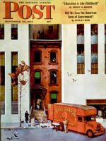 Saturday Evening Post, September 30, 1944 - Moving day