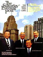 Saturday Evening Post, Oct 5, 1968 - Big Four Auto Execs