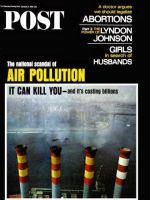 Saturday Evening Post, October 8, 1966 - Smoke Stacks