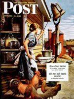 Saturday Evening Post, October 21, 1944 - Dinner Bell