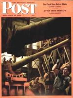 Saturday Evening Post, November 18, 1944 - Gun Factory