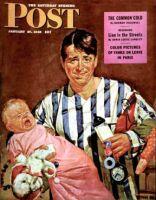 Saturday Evening Post, January 27, 1945 - Early Morning Feeding