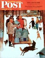 Saturday Evening Post, February 17, 1945 - Maple Syrup Time in Vermont
