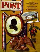 Saturday Evening Post, February 24, 1945 - Commemorating George Washington