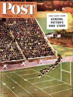 Saturday Evening Post, November 1, 1947 -  Onto the Field