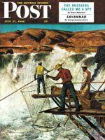 Saturday Evening Post, July 17, 1948 - Salmon Fishing