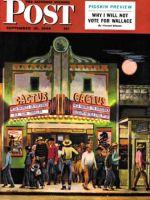 Saturday Evening Post, September 18, 1948 - Cactus Theater