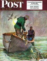 Saturday Evening Post, May 28, 1949 - Fishing with Nets