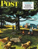 Saturday Evening Post, July 1, 1950 - Shoo the Moos
