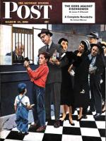 Saturday Evening Post, March 17, 1951 - Savings Passbook