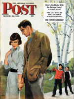 Saturday Evening Post, March 31, 1951 - Mocking Romance