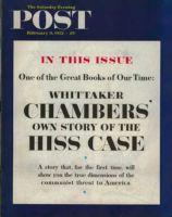 Saturday Evening Post, February 9, 1952 - HIss Case Headlines