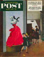 Saturday Evening Post, March 1, 1952 - Mannequin