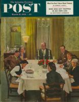 Saturday Evening Post, March 15, 1952 - Family Birthday Party