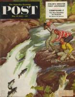 Saturday Evening Post, May 17, 1952 - Salmon Running Upstream