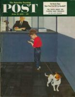 Saturday Evening Post, June 21, 1952 - Dog License