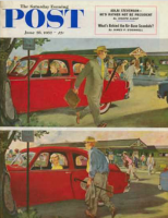 Saturday Evening Post, June 28, 1952 - Coming and Going to Work