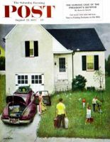 Saturday Evening Post, August 23, 1952 - Home from Vacation