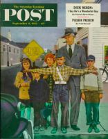 Saturday Evening Post, September 6, 1952 - Crossing Guard