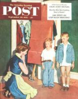 Saturday Evening Post, September 20, 1952 - Suiting Her Sons