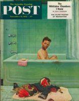Saturday Evening Post, November 15, 1952 - Quarterback in the Tub