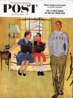 Saturday Evening Post, March 14, 1953 - Boyfriend's Baby Pictures