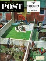 Saturday Evening Post, May 2, 1953 - Painting the Patio Green