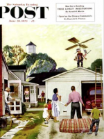 Saturday Evening Post, June 20, 1953 - Learning to Fly