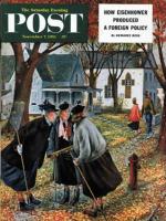 Saturday Evening Post, November 7, 1953 - Fall Gab Session