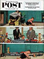 Saturday Evening Post, December 19, 1953 - New Toy Train