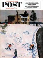 Saturday Evening Post, January 10, 1953 - Snow Angels