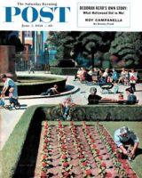 Saturday Evening Post, June 5, 1954 - City Park