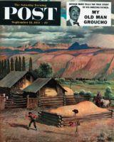 Saturday Evening Post, September 18, 1954 - Lasso Practice
