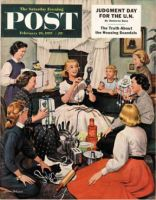 Saturday Evening Post, February 26, 1955 - Bridal Shower