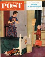 Saturday Evening Post, April 2, 1955 - Mom, I Cleaned My Room