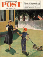 Saturday Evening Post, May 14, 1955 - Lawnboy Lemonade