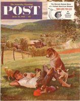 Saturday Evening Post, June 25, 1955 - Dog Days of Summer