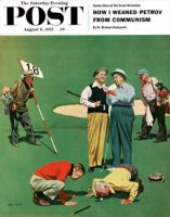 Saturday Evening Post, August 6, 1955 - Eighteenth Hole
