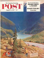 Saturday Evening Post, August 13, 1955 - Blueberry Hill